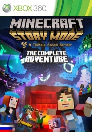 Minecraft: Story Mode - The Complete Adventure [PAL/NTSC-U/RUS] [LT+3.0]